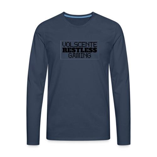 Volscente Restless Logo B - Maglietta Premium a manica lunga da uomo