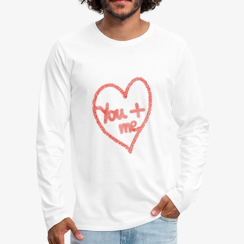 You and me - T-shirt manches longues Premium Homme