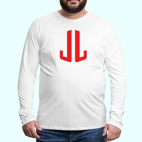 JL + NEXT LEVEL BODY - Miesten premium pitkähihainen t-paita