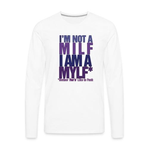 MYLF - Premium langermet T-skjorte for menn