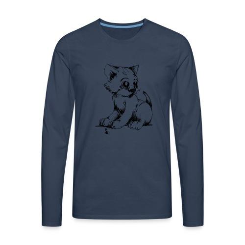 Chaton - T-shirt manches longues Premium Homme