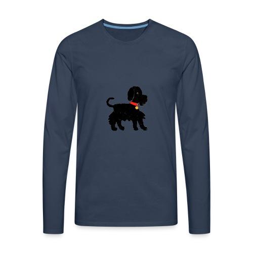 Schnauzer dog - Men's Premium Longsleeve Shirt