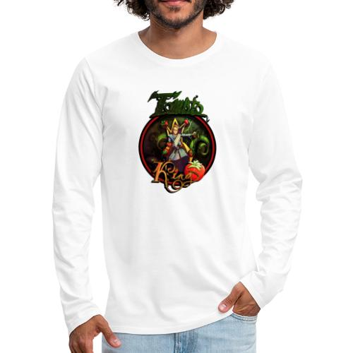 Tomato King - Långärmad premium-T-shirt herr
