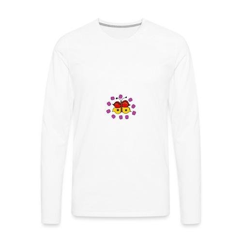 Butterfly colorful - Men's Premium Longsleeve Shirt