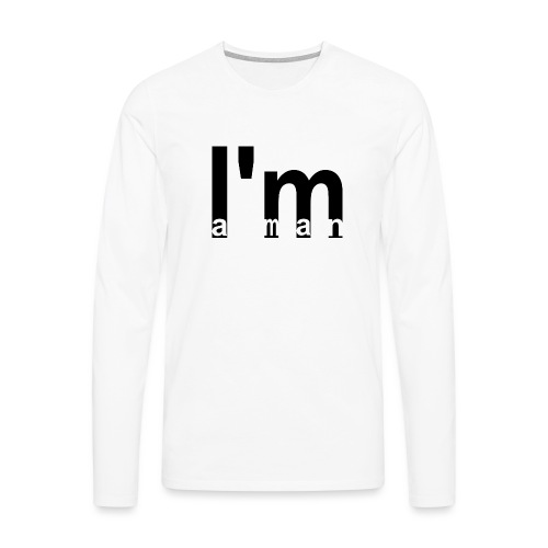 Text 008 - Männer Premium Langarmshirt