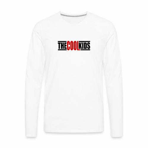 Cool - Camiseta de manga larga premium hombre