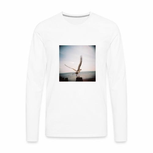 Original Artist design * Seagull - Men's Premium Longsleeve Shirt