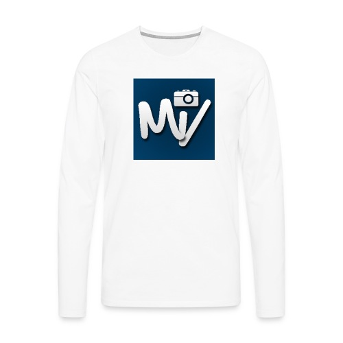 Maxvlogs T-shirt - Mannen Premium shirt met lange mouwen