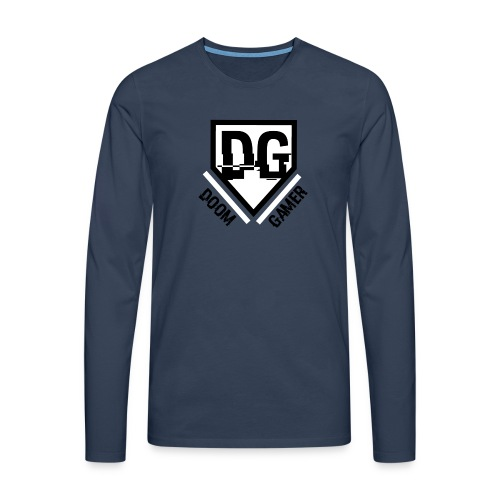 Doomgamer's muismat - Mannen Premium shirt met lange mouwen