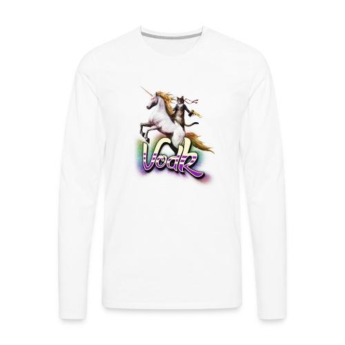 VodK licorne png - T-shirt manches longues Premium Homme