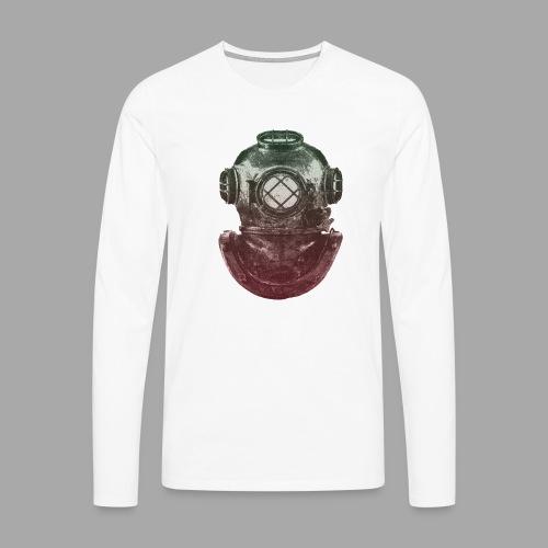 Diver - Miesten premium pitkähihainen t-paita