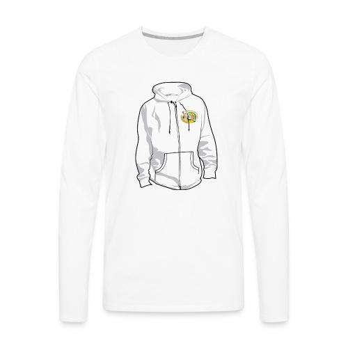 hoodyfront - Mannen Premium shirt met lange mouwen