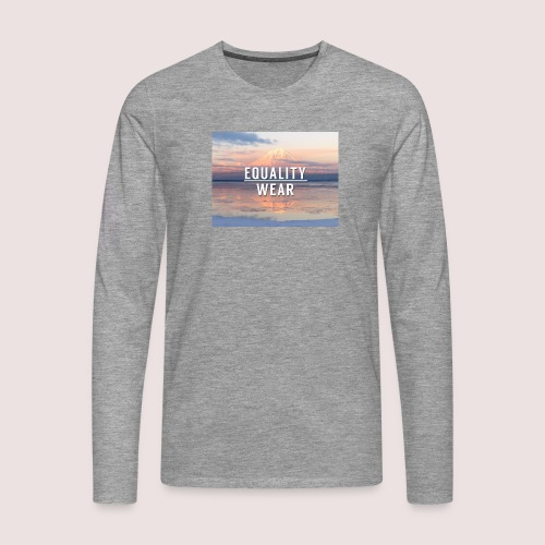 Mountain Equality Edition - Men's Premium Longsleeve Shirt