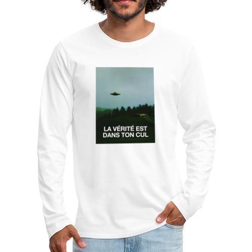 LA VÉRITÉ - T-shirt manches longues Premium Homme