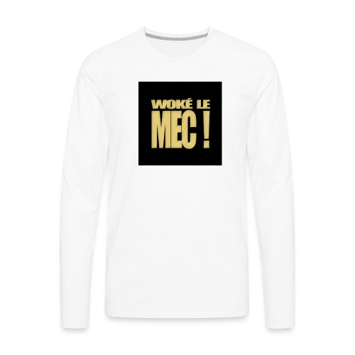 badgewoke - T-shirt manches longues Premium Homme