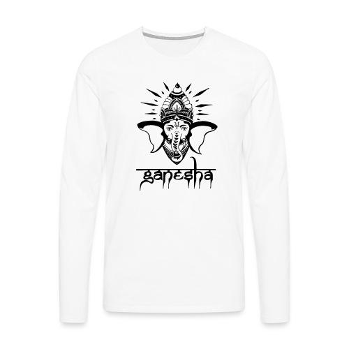 Ganesha - Männer Premium Langarmshirt