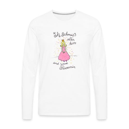 Prinzessin - Männer Premium Langarmshirt