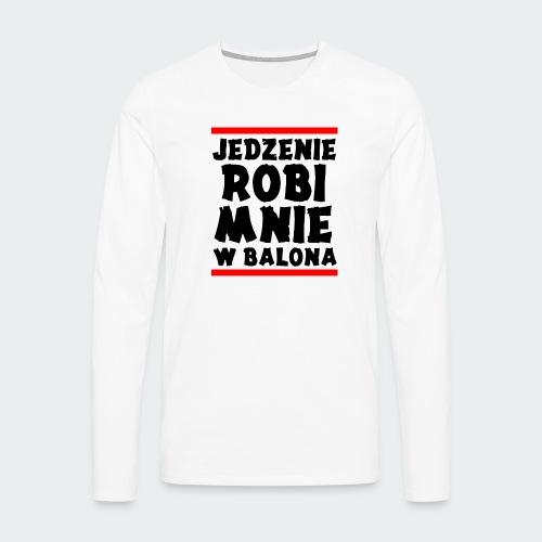 Damska Koszulka Premium JRBWB - Koszulka męska Premium z długim rękawem