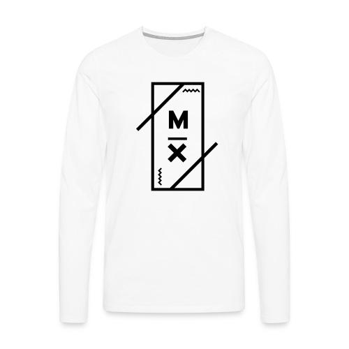MX_9000 - Mannen Premium shirt met lange mouwen