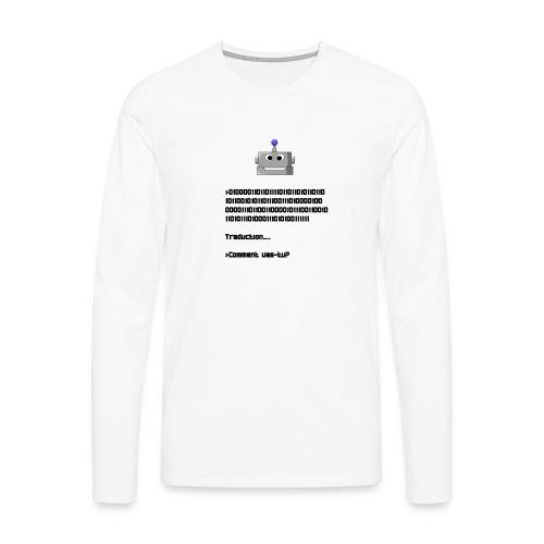 Salutation robotique - T-shirt manches longues Premium Homme