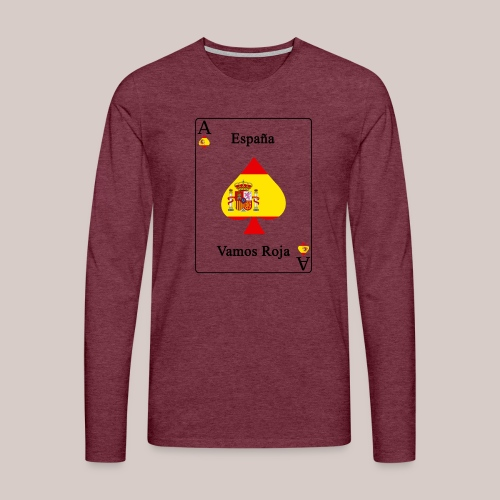 Spanien - Männer Premium Langarmshirt