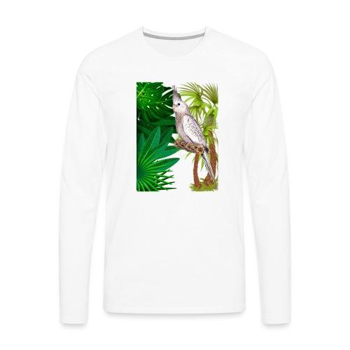 PAPPAGALLO - Maglietta Premium a manica lunga da uomo