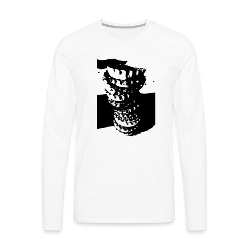 Kronkorken - Männer Premium Langarmshirt
