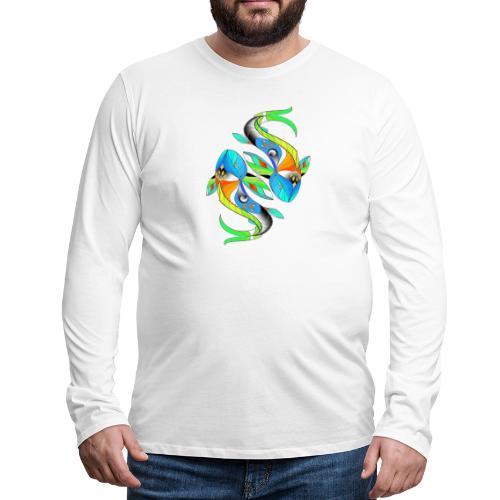 Regenbogenfische - Männer Premium Langarmshirt
