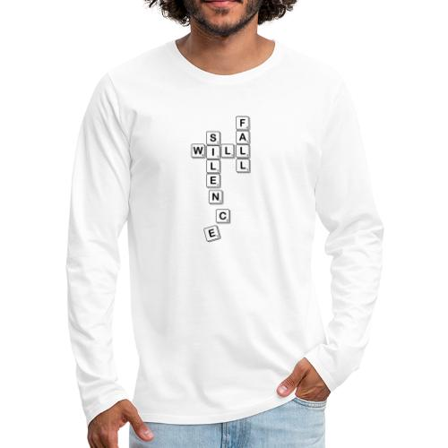 Silence Will Fall - Men's Premium Longsleeve Shirt