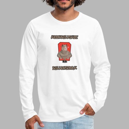 Bullenstark statt Bullshit - Männer Premium Langarmshirt