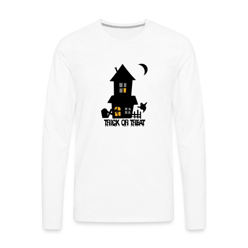 Happy Halloween - Männer Premium Langarmshirt