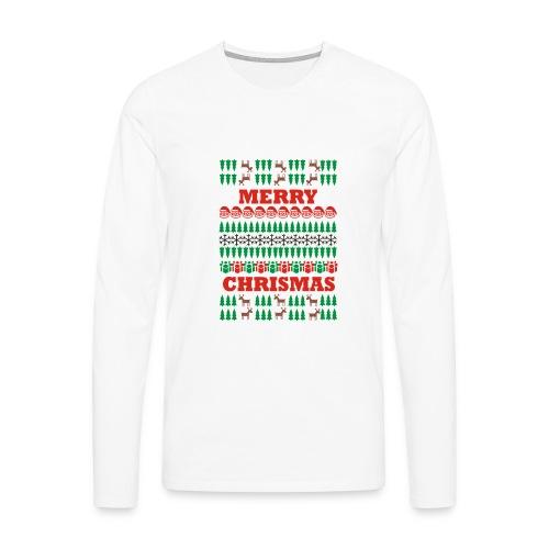 natal - Maglietta Premium a manica lunga da uomo
