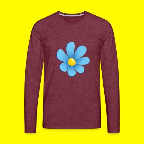 Sverigedemokraterna - Långärmad premium-T-shirt herr