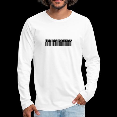 LES P3RSONN3S - Premium langermet T-skjorte for menn