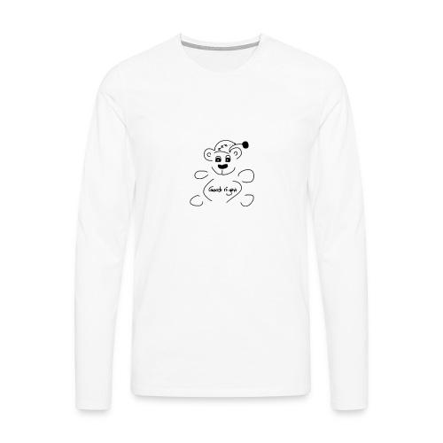 Good night bear - Men's Premium Longsleeve Shirt