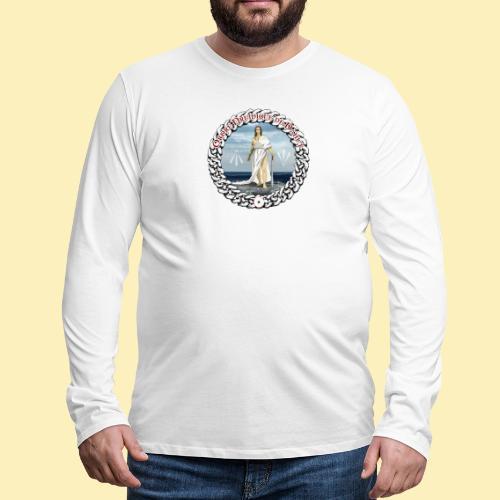 Ordre Druidique de Dahut Logo - T-shirt manches longues Premium Homme