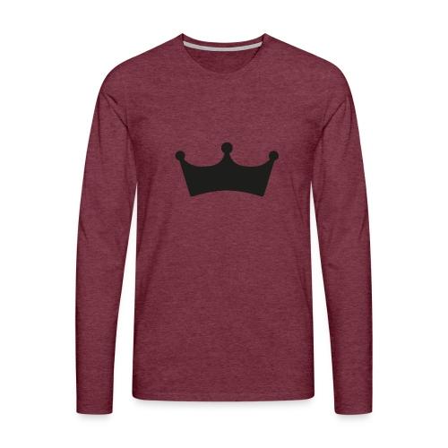 JewelFC Kroon - Mannen Premium shirt met lange mouwen