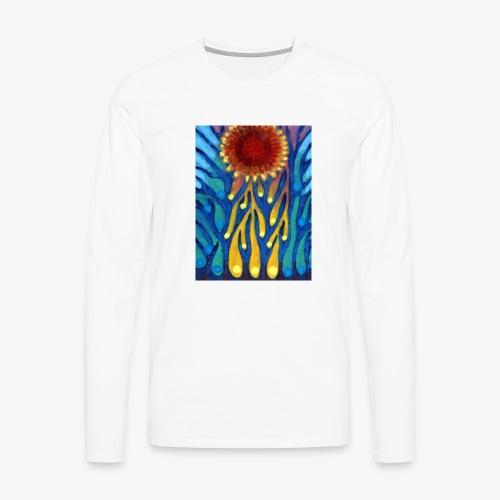 Chore Słońce - Koszulka męska Premium z długim rękawem