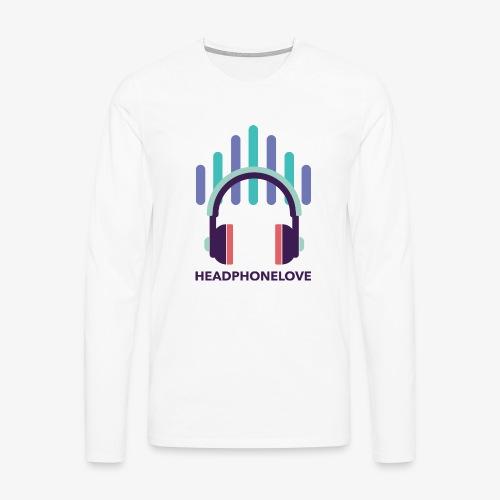 headphonelove - Männer Premium Langarmshirt