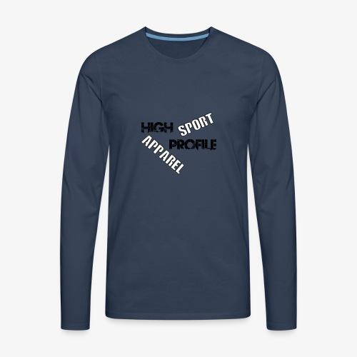 HIGH PROFILE SPORT - Men's Premium Longsleeve Shirt