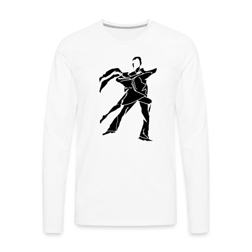 dancesilhouette - Men's Premium Longsleeve Shirt