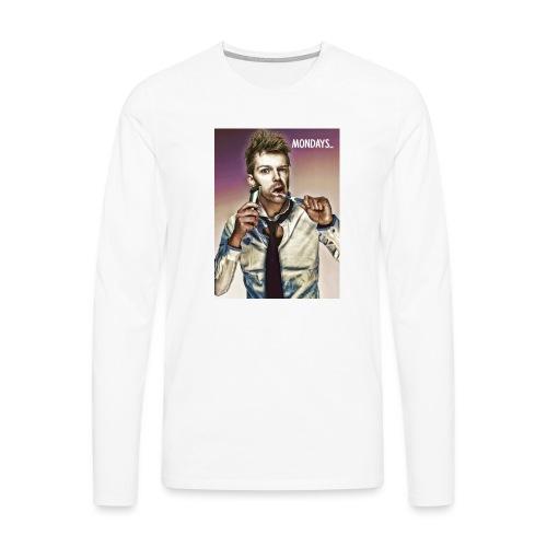 Rush hour on monday - Men's Premium Longsleeve Shirt