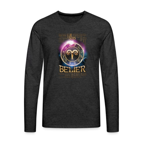 BELIER - T-shirt manches longues Premium Homme