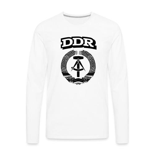 DDR T-paita - Miesten premium pitkähihainen t-paita