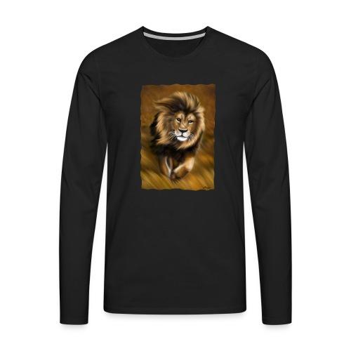 Il vento della savana - Maglietta Premium a manica lunga da uomo