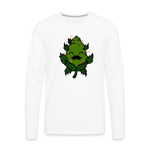 Mr. Weed Nug - Camiseta de manga larga premium hombre
