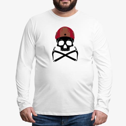 Climber Pirats skull black - Climbing Pirates - Men's Premium Longsleeve Shirt
