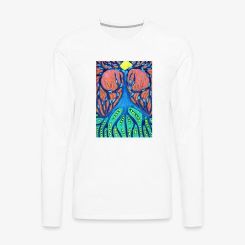 Drapieżne Drzewo - Koszulka męska Premium z długim rękawem