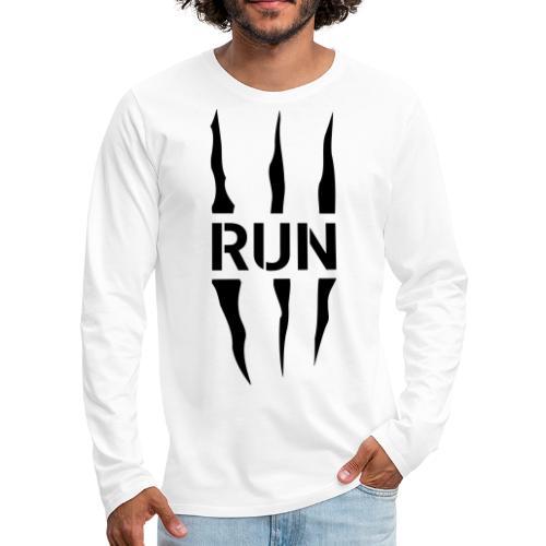 Run Scratch - T-shirt manches longues Premium Homme