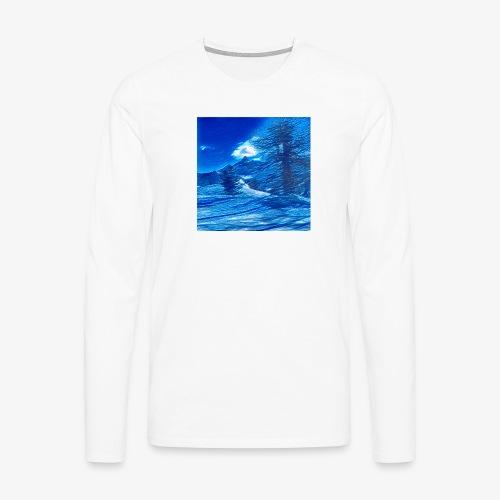 Magia dei Monti della Luna - Maglietta Premium a manica lunga da uomo
